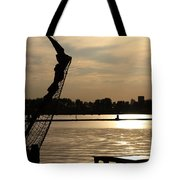 Amsterdam At Sunset Tote Bag