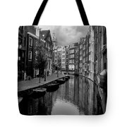 Amsterdam Canal Tote Bag by Heather Applegate