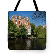 Amsterdam Canal Mansions - Floating By Tote Bag