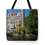 Amsterdam Canal Mansions - The Dainty Tower Tote Bag