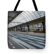 Amsterdam Central Station Tote Bag