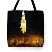Amsterdam Church And Canal Tote Bag