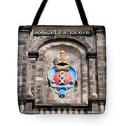 Amsterdam Coat Of Arms On Westerkerk Tower Tote Bag