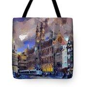 Amsterdam Daily Life Tote Bag