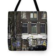 Amsterdam Graffiti Tote Bag