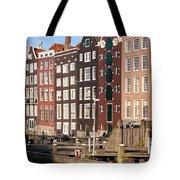 Amsterdam Houses Ar Sunset Tote Bag