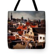 Amsterdam Roofs. View From Metz Cafe Tote Bag
