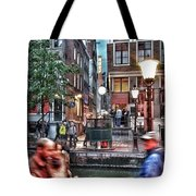 Amsterdam Saturday Night Tote Bag
