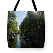 Amsterdam Spring - Green Sunny And Beautiful Tote Bag