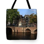 Amsterdam Stone Arch Bridges Tote Bag