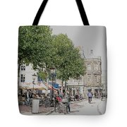 Amsterdam Streets 3 Tote Bag