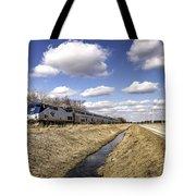 Amtrak 66  Tote Bag