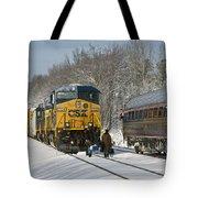 Amtrak And Csx Crews Tote Bag
