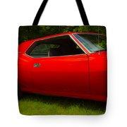 Amx Muscle Car Tote Bag