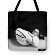 An Advertising Contortionist Tote Bag