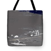 An Aerial View Of The San Xavier Mission No Date-2013  Tote Bag