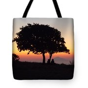 An African Sunset Tote Bag
