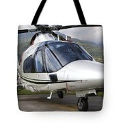 An Agustawestland A109 Power Elite Tote Bag