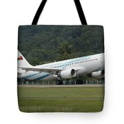 An Airbus A320 Of The Royal Air Force Tote Bag