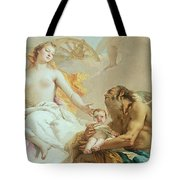 An Allegory With Venus And Time Tote Bag