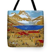 An Alpine Autumn Tote Bag