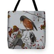 An American Robin Remembers Tote Bag