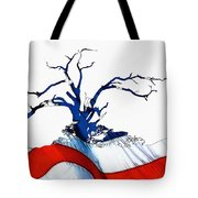 An American Tree Tote Bag
