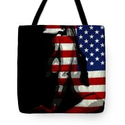 An American Woman Tote Bag