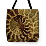 An Ancient Ammonite Pattern Iv Tote Bag