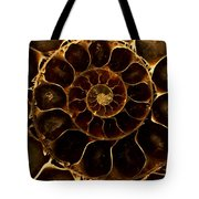 An Ancient Ammonite Pattern  Tote Bag