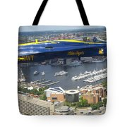 An Angel Over Baltimore Tote Bag