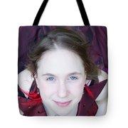An Angel's Visage Tote Bag