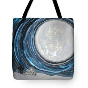 An Apparition Of The Moon  Tote Bag