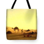 An Arab Encampment  Tote Bag