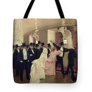 An Argument In The Corridors Of The Opera Tote Bag