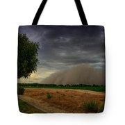 An Arizona Dust Storm  Tote Bag