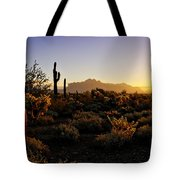 An Arizona Morning  Tote Bag