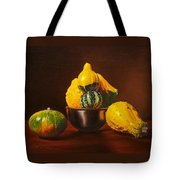 An Arrangement Of Gourds Tote Bag