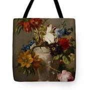 An Arrangement With Flowers Tote Bag by Georgius Jacobus Johannes van Os