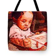 An Artist Is Born Tote Bag