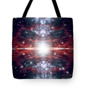 An Artists Depiction Of The Big Bang Tote Bag by Marc Ward