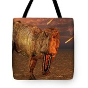 An Asteroid Hitting The Earth, Marking Tote Bag