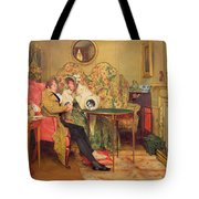 An Attentive Visitor Tote Bag