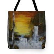 An Autumn Evening Tote Bag