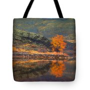 An Autumn Stand Tote Bag