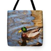 An Autumn Swim Tote Bag