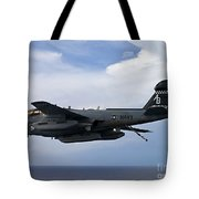 An Ea-6b Prowle In Flight Tote Bag