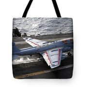An Ea-6b Prowler Takes Tote Bag