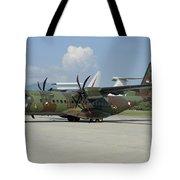 An Eads Casa C-295 Aircraft Tote Bag