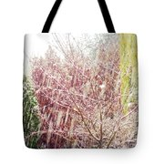 An Early Snowfall Tote Bag